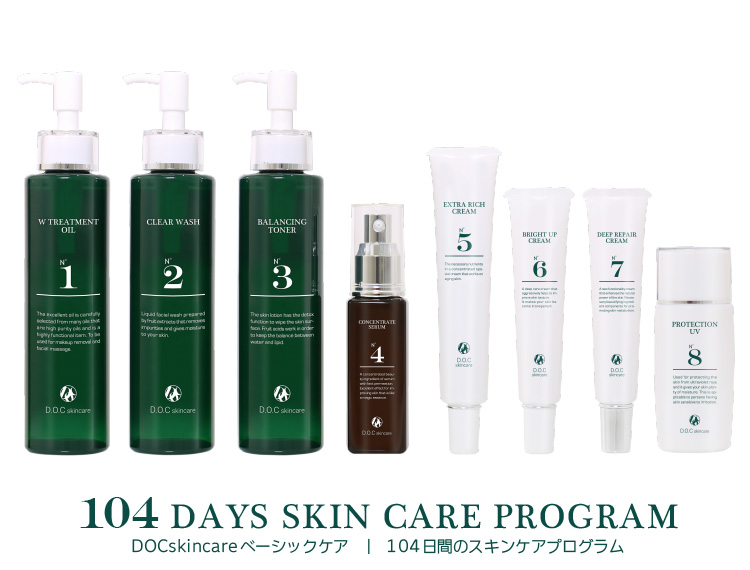 104 DAY SKIN CARE PROGRAM